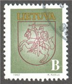Lithuania Scott 460 Used